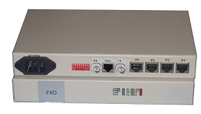4 FXO-FXS Optical Multiplexer
